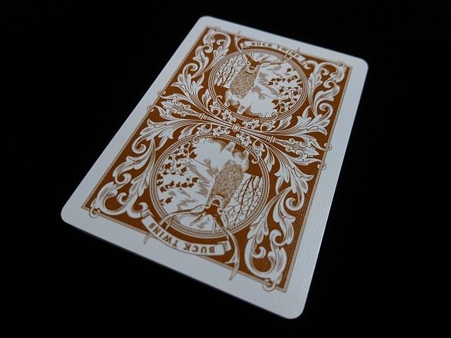 Antler Tobacco Brown Playing Cards (3)