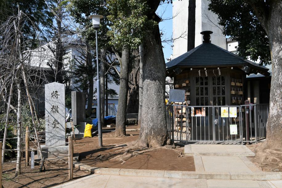 鳩森神社 将棋堂 1