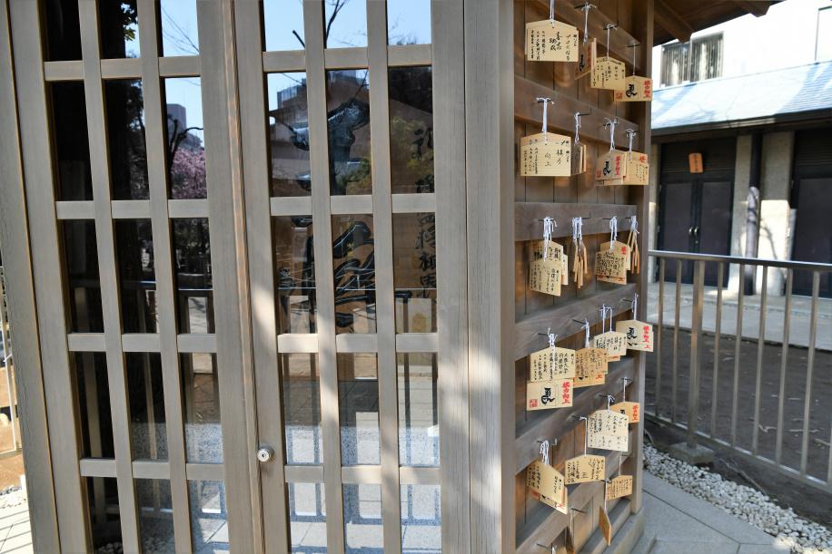 鳩森神社 将棋堂 2