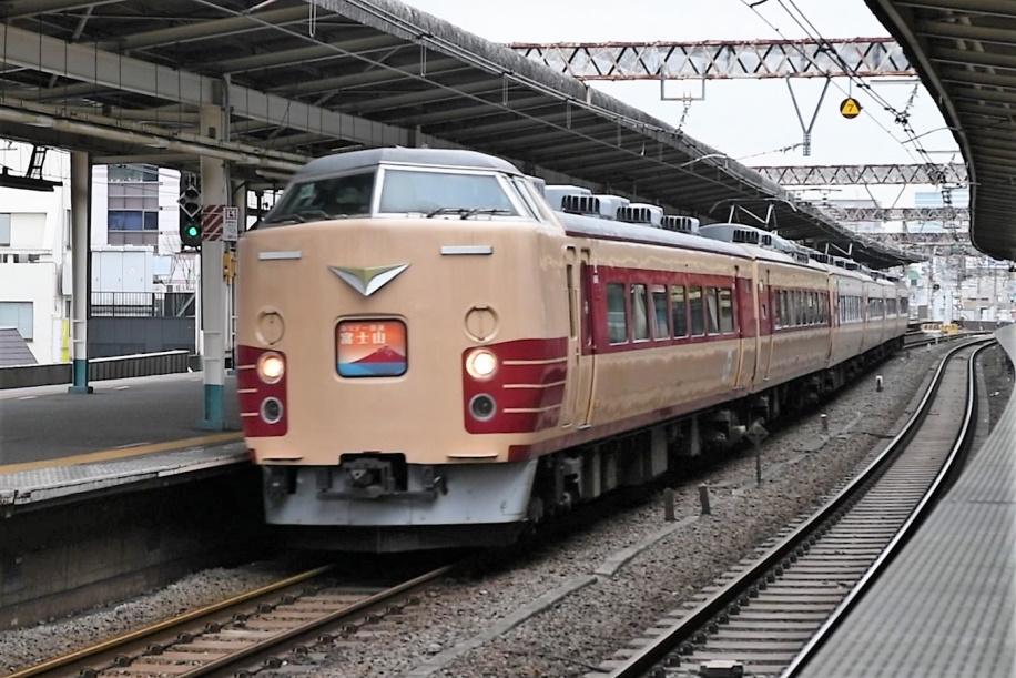 189系M51編成 H快速富士山1号 ラストラン