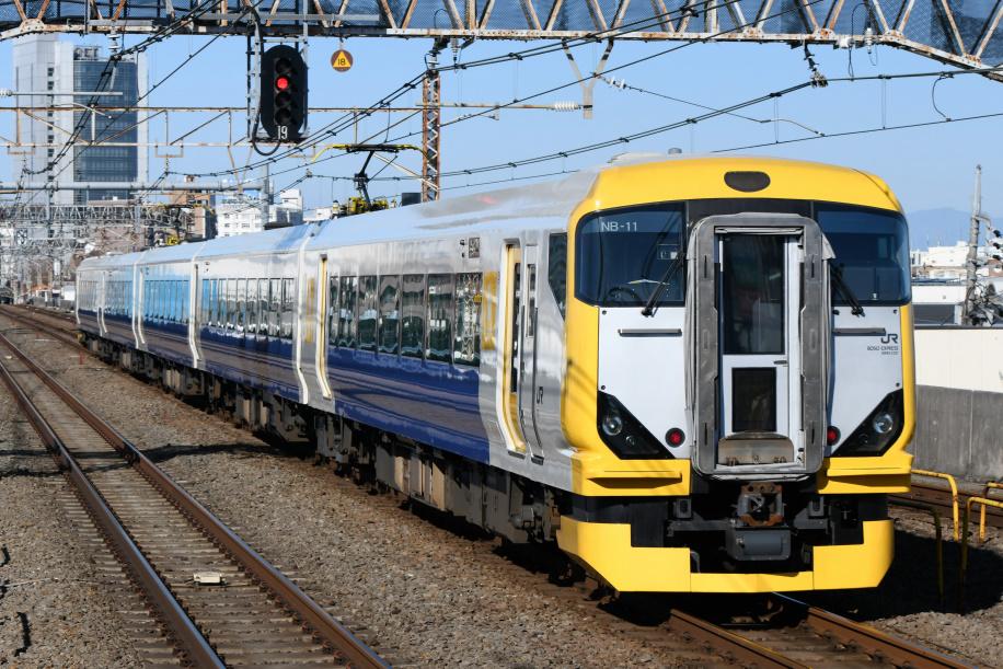 E257系 ホリデー快速 富士山1号 3