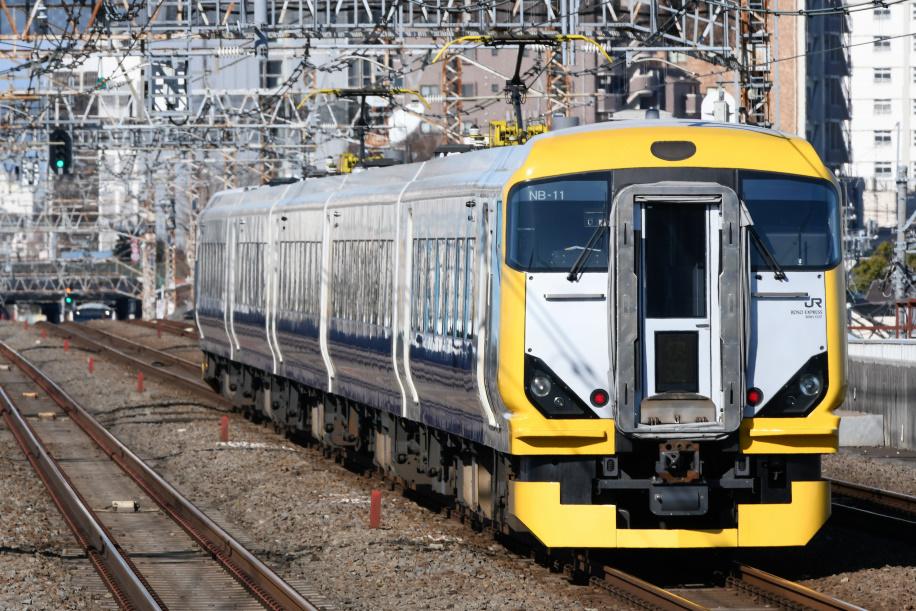 E257系 ホリデー快速 富士山1号 4