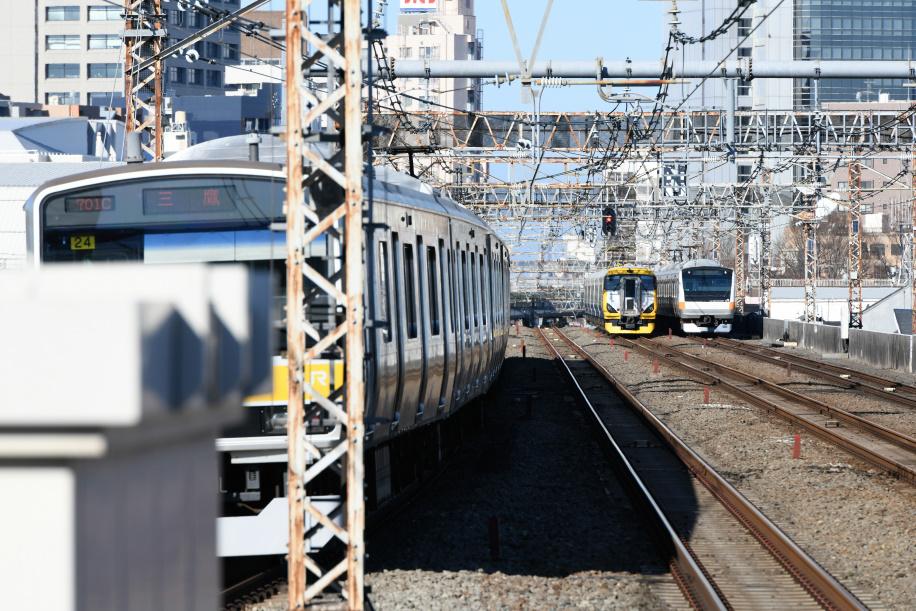 E257系 ホリデー快速 富士山1号 5