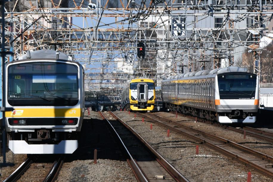 E257系 ホリデー快速 富士山1号 6