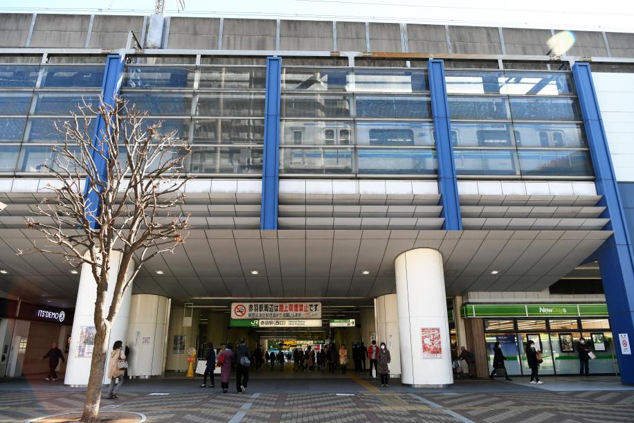 JR赤羽駅西口