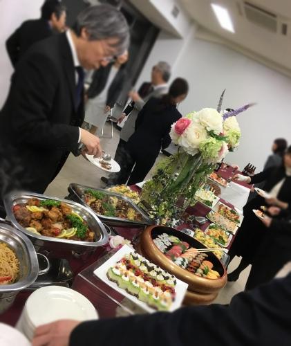 新宿 会館 ケータリング 懇親会パーティー