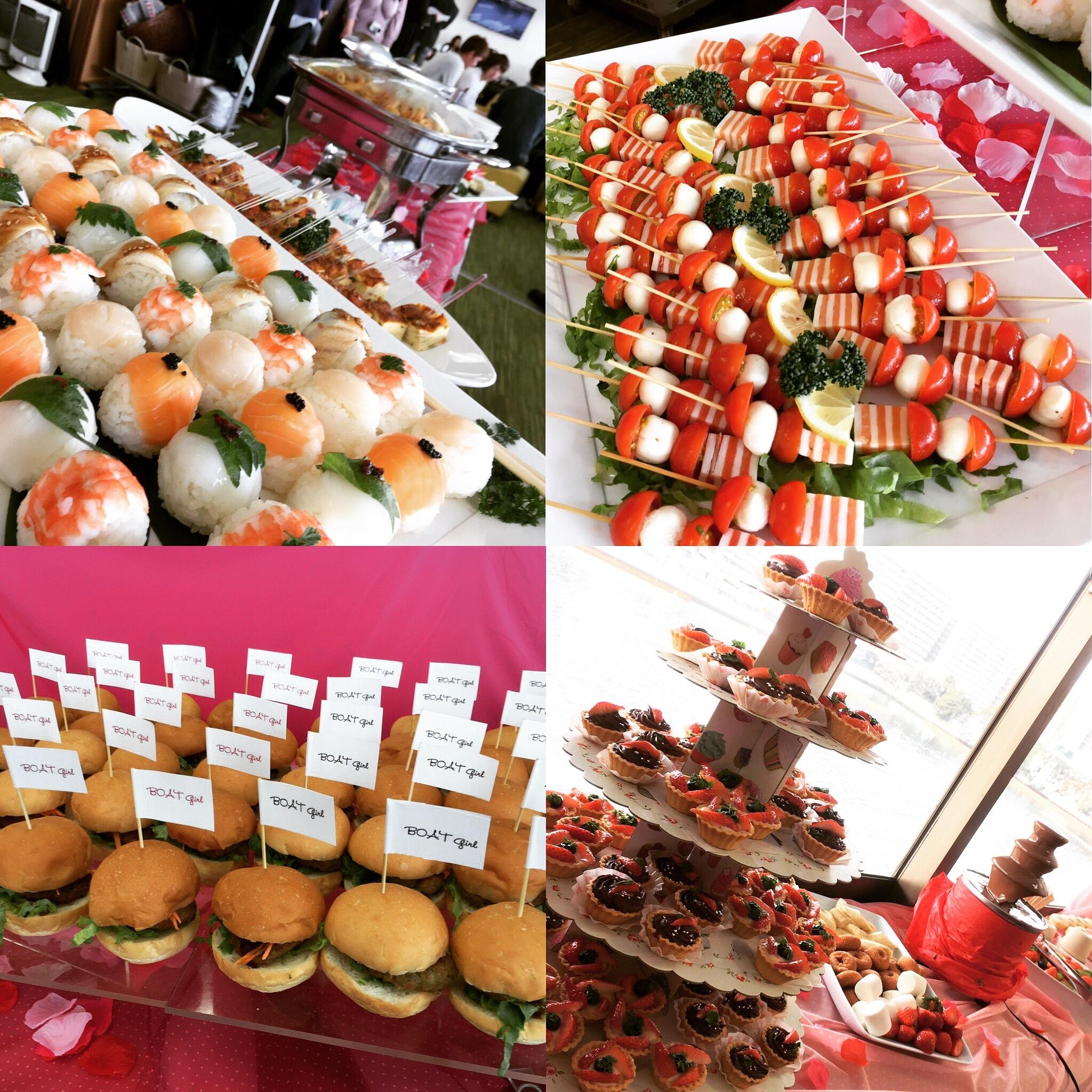 東京 バレンタインビュッフェ ランチビュッフェ ランチケータリング パーティー