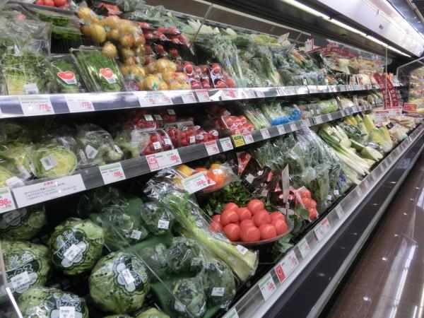 野菜品揃え