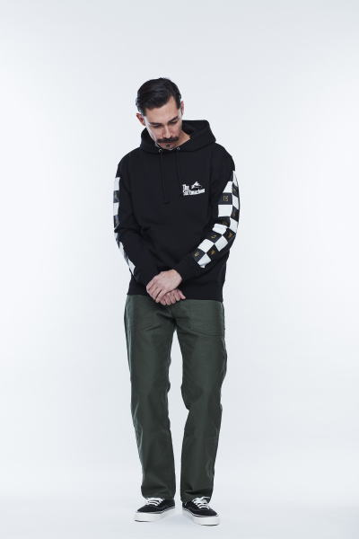 SOFTMACHINE CHESSBOARD HOODED SMITH BASES PANTS