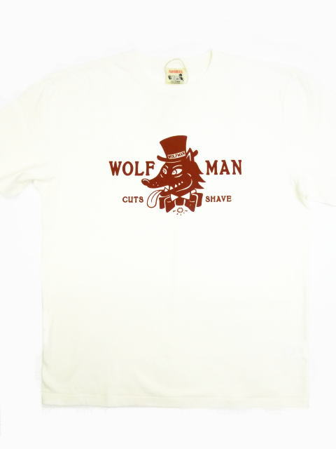 GLAD HAND WOLFMAN LOGO-S/S T-SHIRTS