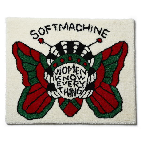 SOFTMACHINE BUTTERFLY WOMEN RUG