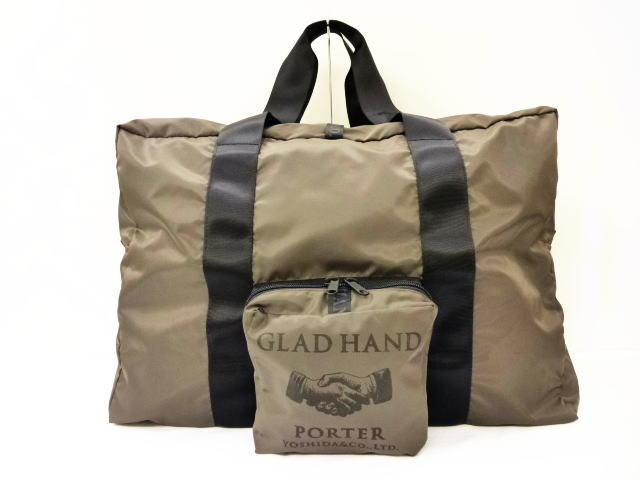 GLAD HAND GH-SNACK PACK PACKABLE BOSTON BAG
