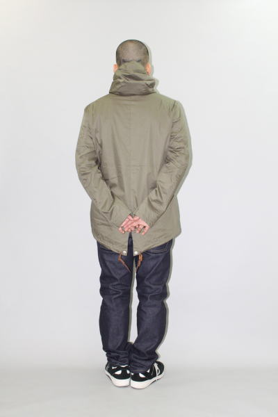 INTERFACE HOODED COAT