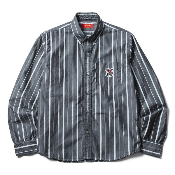 SOFTMACHINE SABER ROSE STRIPE SHIRTS