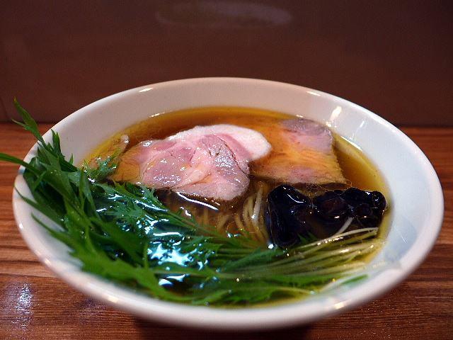 麺や 一想@07丸鶏中華そば 1