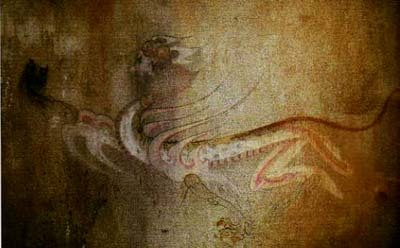 高句麗古墳の白虎