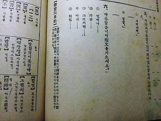 「日帝時代の朝鮮の小学校の教科書(参考書)