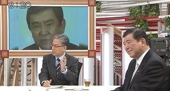 平成26年(2014年)3月2日(日)のフジテレビ「報道2001」で、平井文夫は石破茂に対して「河野談話っていうのは嘘なんです。多くの国民が見直しを求めていることを政治家は重く受け止めるべきだ!」などと迫