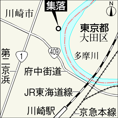その後も、多摩川河川敷集落は、密航朝鮮人による不法占拠と脱税の犯罪集落だった。