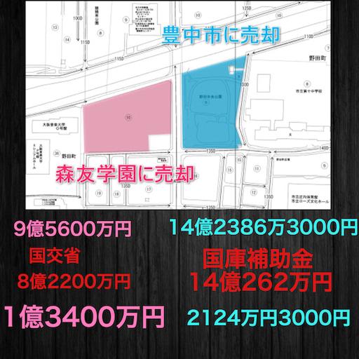 辻元清美のお膝元である豊中市が14億円の補助金をもらって14億2000万円の国有地を実質2000万円で購入した時、辻元清美は国土交通副大臣だった!