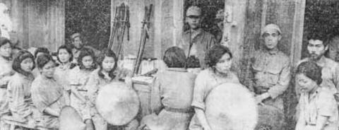 騰越の戦いのあと、中国軍の捕虜になった、日本、台湾、朝鮮の各人種を含んだ慰安婦たち