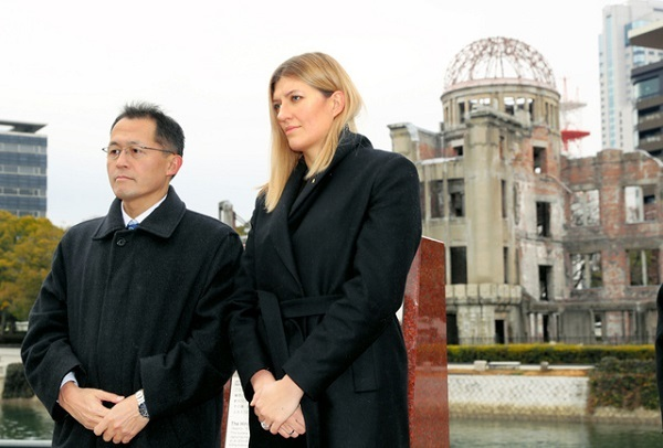 ICAN事務局長が広島に 首相との面会、政府「困難」 ピースボートの川崎哲代表と