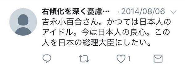 (11)「吉永小百合を総理大臣にしたい」