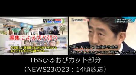 TBS「ひるおび」は虚偽報道や捏造編集の常習犯