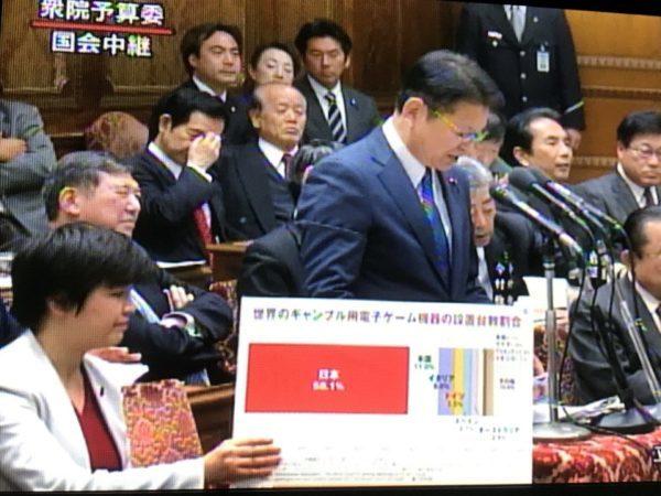 長妻昭「日本はギャンブル依存症が多いからカジノには反対!」←パチンコには賛成なんでしょ