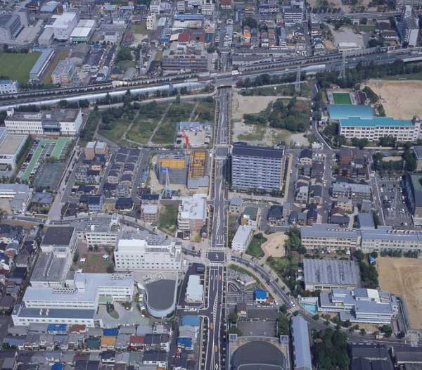 平成15年(2003年)もう長屋(バラック)はなくなり、「部落集落」の面影はなくなった。