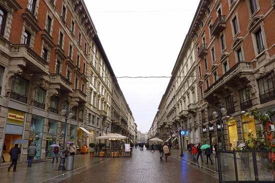 ミラノ街並み