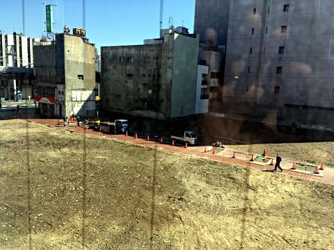 岐阜_柳ヶ瀬再開発_ロイヤル劇場ビルからを見る2018_01