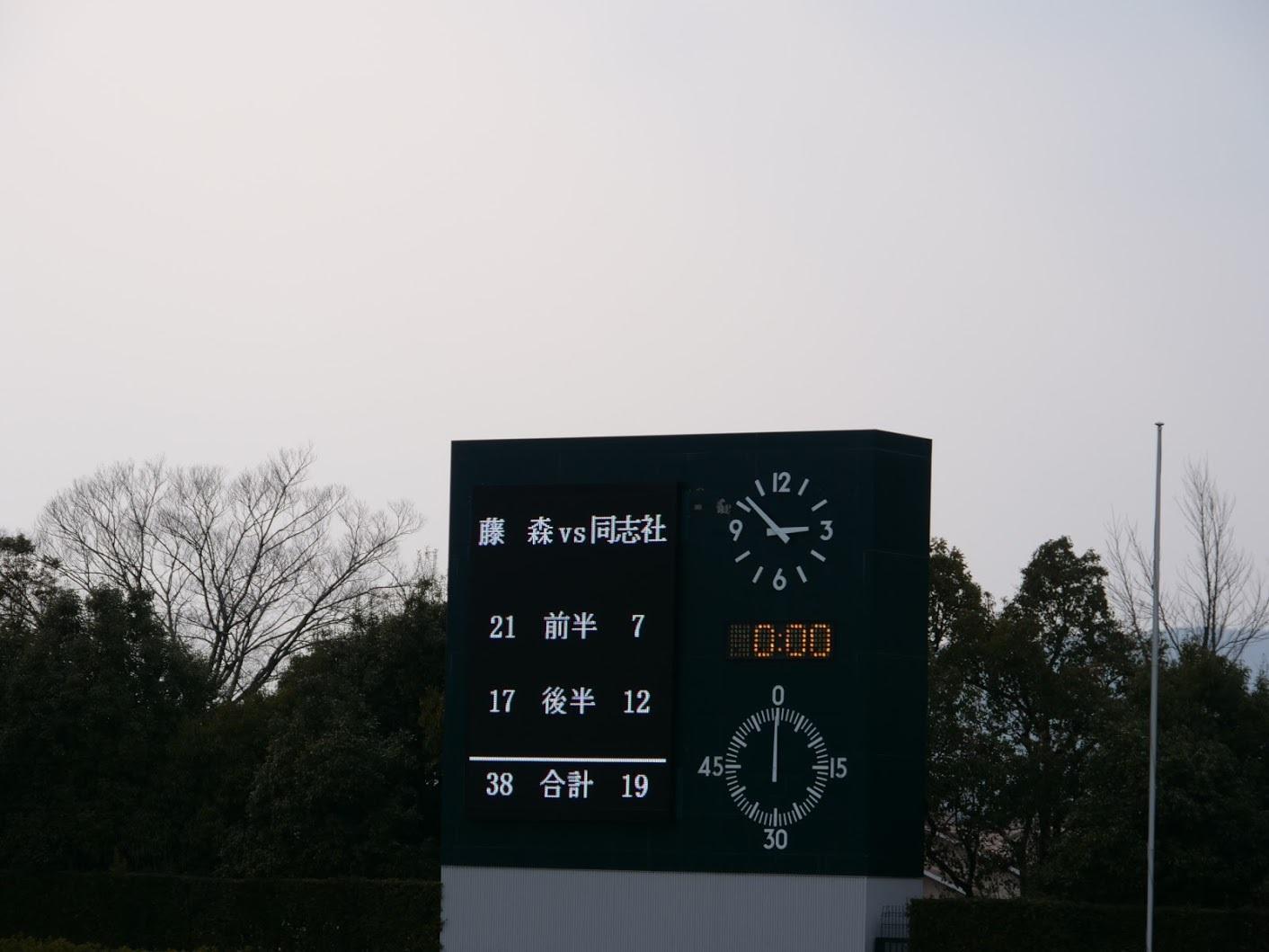 2018年2月24日 新人戦 決勝 VS藤森中 @宝ヶ池競技場