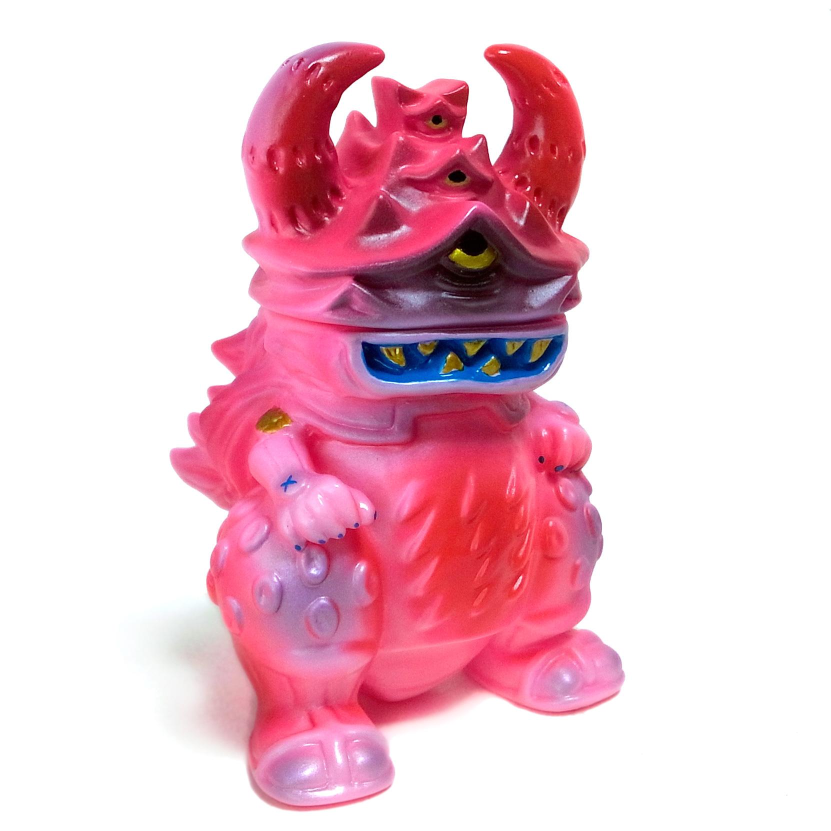 戦国女子妄想怪獣 ガジョラ gumtaro彩色 ピンク