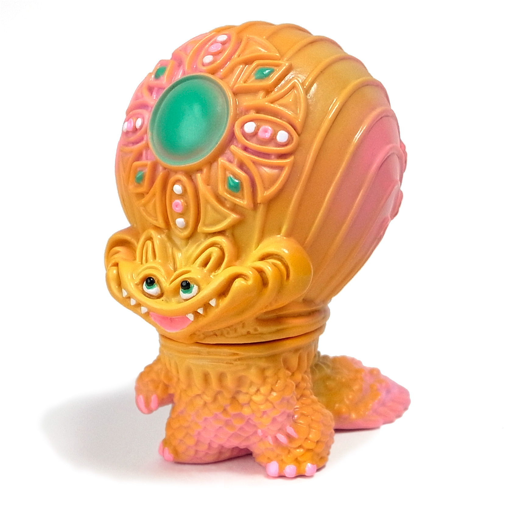 宇宙魚人ギョグラ gumtaro彩色 ピンク