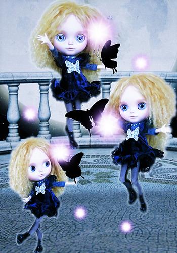 クラウディアと蝶b