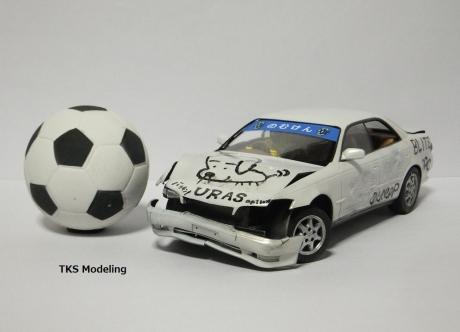 自動車サッカーのむけん (1)