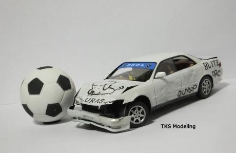自動車サッカーのむけん (2)