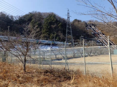 八ツ沢発電所と中央本線