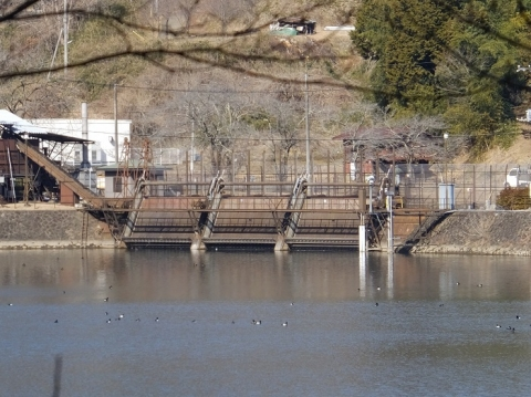 大野調整池制水門