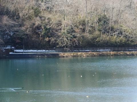 大野調整池余水路