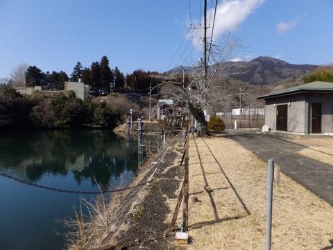 東京電力八ツ沢発電所 大野調整池
