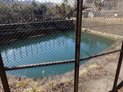 大野調整池制水門・開渠