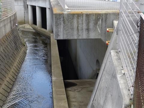 滝川分水路分水施設