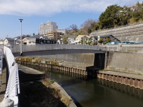 境川の堰跡橋