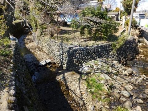 小松川・穴川合流点