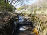 穴川の農業用取水施設