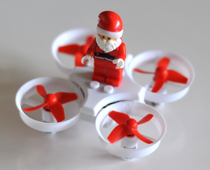 JJRC H67 Flying Santa Claus レビュー