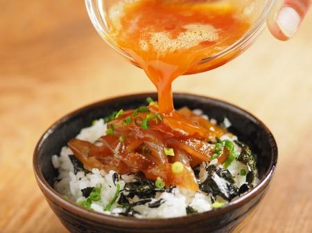 鯛刺身の卵かけご飯017