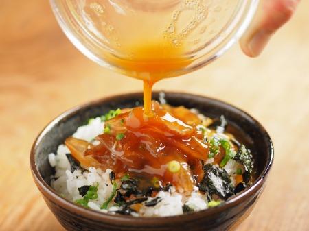鯛刺身の卵かけご飯024